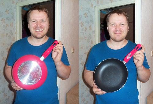 Я с гламурной сковородкой