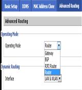 dd-wrt Operating Mode